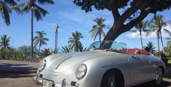 Hoku Classic Silver 1957 Porsche 356 Speedster